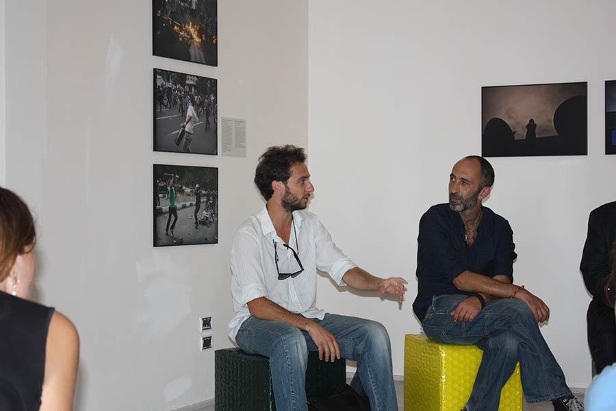 Pietro Masturzo e Tommaso Ausili press preview